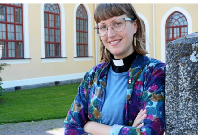 Therese blommar som pastor